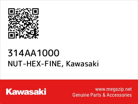 NUT-HEX-FINE, Kawasaki 314AA1000 oem parts