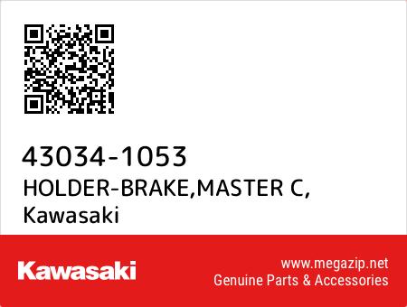 HOLDER-BRAKE,MASTER C, Kawasaki 43034-1053 oem parts