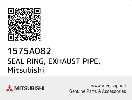 1575A085 Genuine Mitsubishi SEAL RING,EXHAUST PIPE