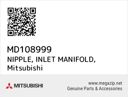 NIPPLE, INLET MANIFOLD, Mitsubishi MD108999 oem parts