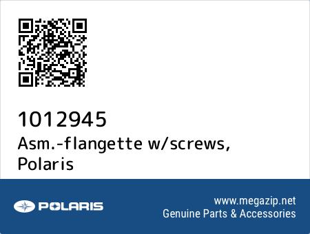 Asm.-flangette w/screws, Polaris 1012945 oem parts