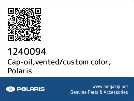 Cap-oil,vented/custom color, Polaris 1240094 oem parts