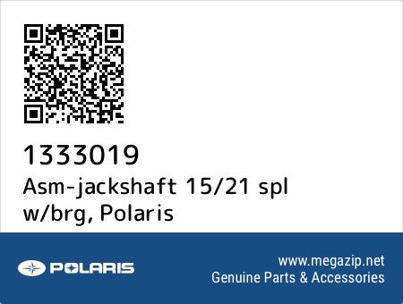 Asm-jackshaft 15/21 spl w/brg, Polaris 1333019 oem parts