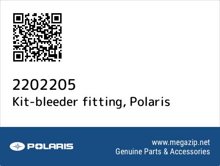 Kit-bleeder fitting, Polaris 2202205 oem parts