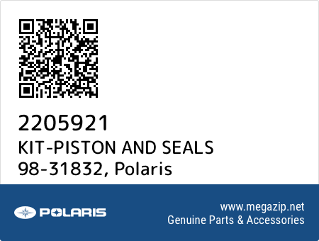 KIT-PISTON AND SEALS 98-31832, Polaris 2205921 oem parts