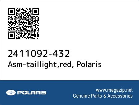 Asm-taillight,red, Polaris 2411092-432 oem parts