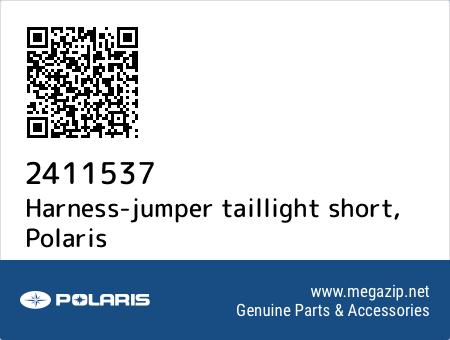 Harness-jumper taillight short, Polaris 2411537 oem parts