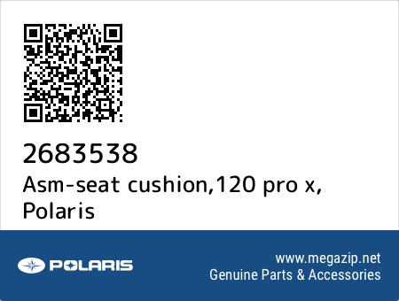 Asm-seat cushion,120 pro x, Polaris 2683538 oem parts