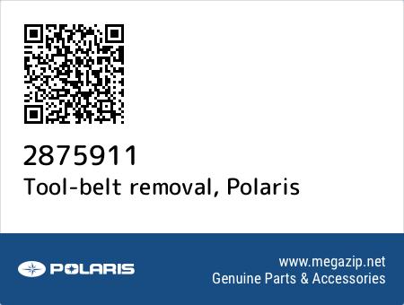 Tool-belt removal, Polaris 2875911 oem parts