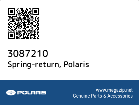 Spring-return, Polaris 3087210 oem parts