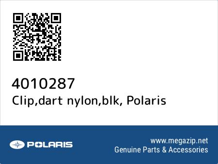 Clip,dart nylon,blk, Polaris 4010287 oem parts