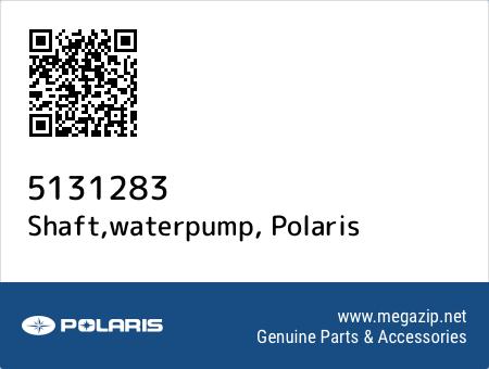 Shaft,waterpump, Polaris 5131283 oem parts