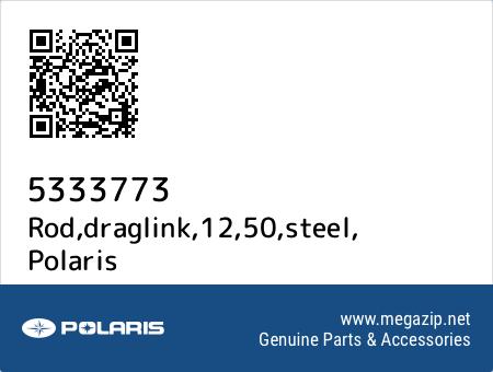 Rod,draglink,12,50,steel, Polaris 5333773 oem parts