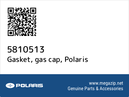 Gasket, gas cap, Polaris 5810513 oem parts