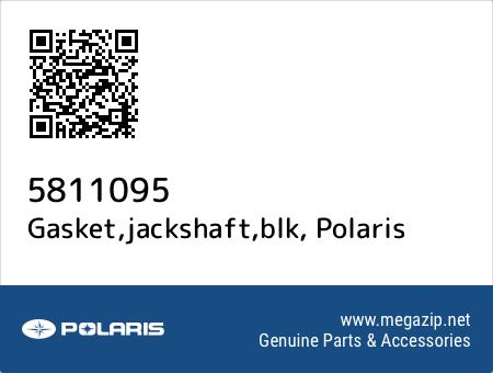 Gasket,jackshaft,blk, Polaris 5811095 oem parts