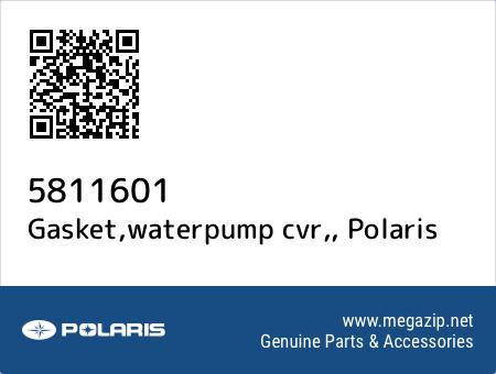 Gasket,waterpump cvr,, Polaris 5811601 oem parts