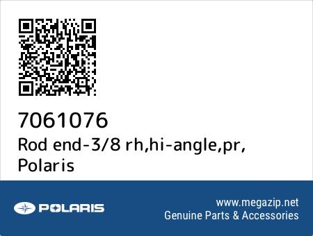Rod end-3/8 rh,hi-angle,pr, Polaris 7061076 oem parts