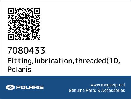 Fitting,lubrication,threaded(10, Polaris 7080433 oem parts