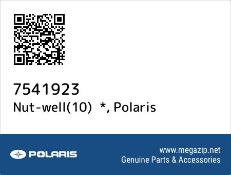 Nut-well(10)  *, Polaris 7541923 oem parts