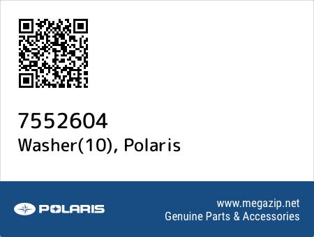 Washer(10), Polaris 7552604 oem parts