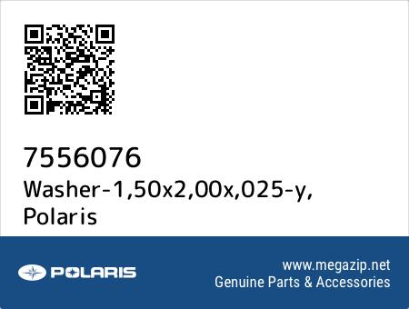 Washer-1,50x2,00x,025-y, Polaris 7556076 oem parts