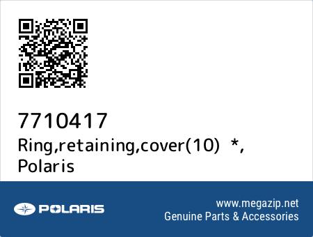 Ring,retaining,cover(10)  *, Polaris 7710417 oem parts