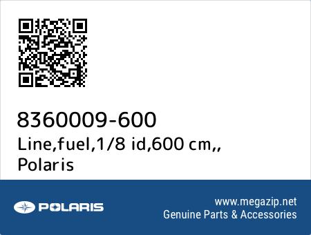 Line,fuel,1/8 id,600 cm,, Polaris 8360009-600 oem parts