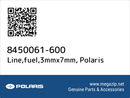 Line,fuel,3mmx7mm, Polaris 8450061-600 oem parts