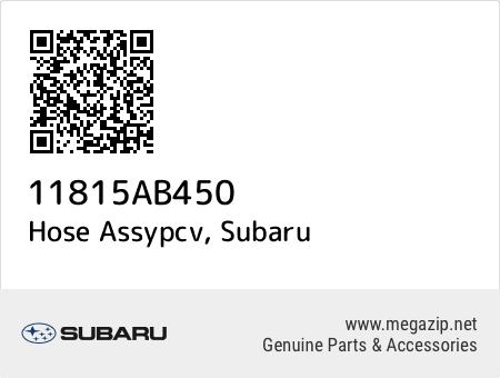 Oem SUBARU 11815AB450 Hose Assy PCV  Genuine Parts 11815AB450