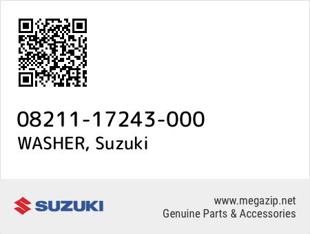 WASHER, Suzuki 08211-17243-000 oem parts