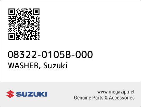 WASHER, Suzuki 08322-0105B-000 oem parts