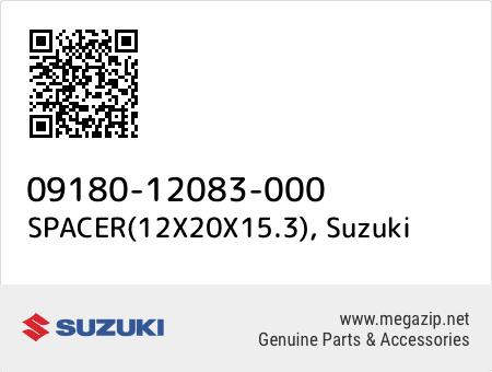 SPACER(12X20X15.3), Suzuki 09180-12083-000 oem parts