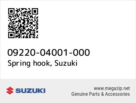 Spring hook, Suzuki 09220-04001-000 oem parts