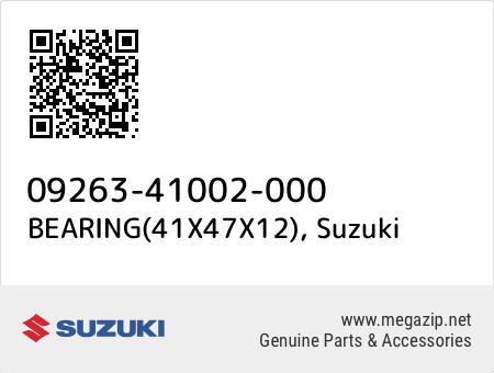 BEARING(41X47X12), Suzuki 09263-41002-000 oem parts
