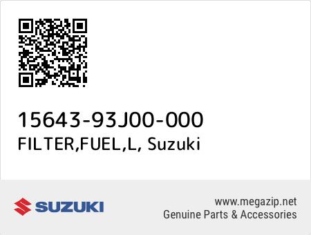 Suzuki 15643-93J00 L FILTER FUEL