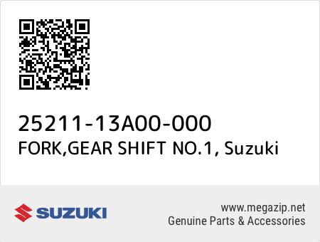 FORK,GEAR SHIFT NO.1, Suzuki 25211-13A00-000 oem parts