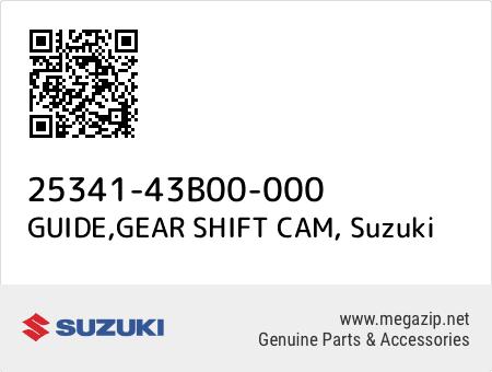 GUIDE,GEAR SHIFT CAM, Suzuki 25341-43B00-000 oem parts