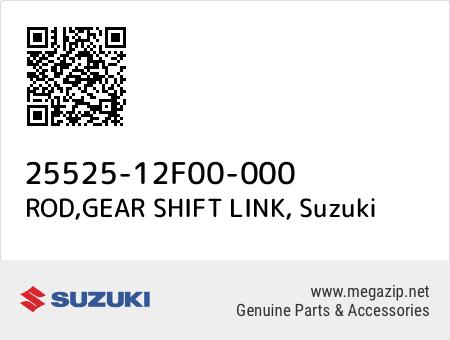 ROD,GEAR SHIFT LINK, Suzuki 25525-12F00-000 oem parts