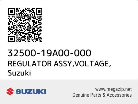 REGULATOR ASSY,VOLTAGE, Suzuki 32500-19A00-000 oem parts
