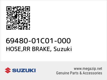 HOSE,RR BRAKE, Suzuki 69480-01C01-000 oem parts