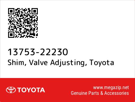 Toyota 13753-22230 Valve Adjusting Shim