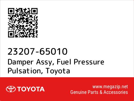 fuel pressure pulsation 2320765010 23207-65010 Toyota Damper assy New Genuine