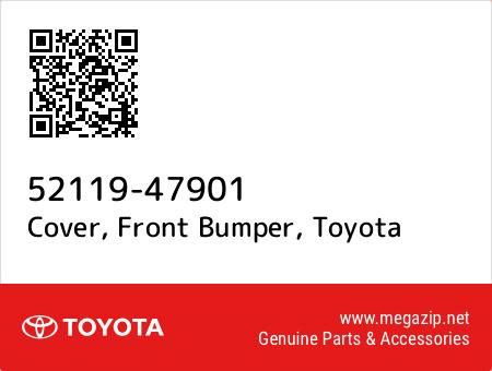 Bumpers & Bumper Accessories Genuine Toyota 52119-47901 Bumper Cover