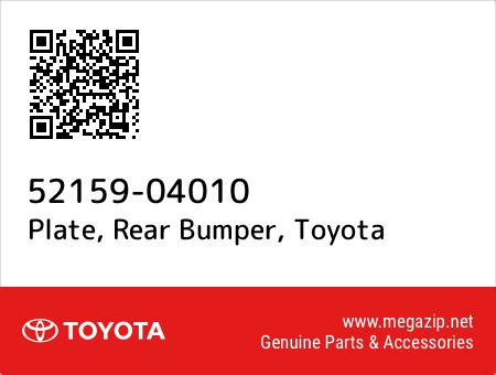 5215904010 Genuine Toyota PLATE REAR BUMPER 52159-04010
