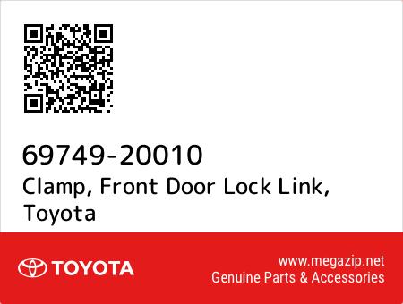 Toyota 69749-20010 Door Lock Link Clamp