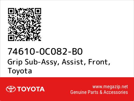 Grip Sub-Assy, Assist, Front, Toyota 74610-0C082-B0 oem parts