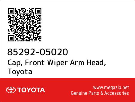 Cap, Front Wiper Arm Head, Toyota 85292-05020 oem parts