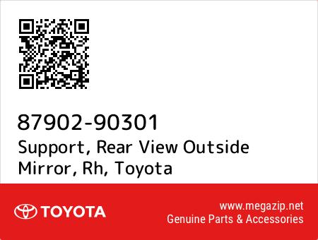 Genuine Toyota 87902-90301 Rear View Mirror Support