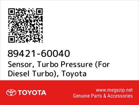TURBO PRESSURE 89421-60040 8942160040 Genuine Toyota SENSOR
