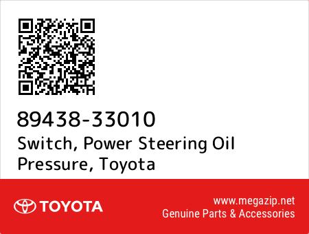8943833010 Genuine Toyota SWITCH POWER STEERING OIL PRESSURE 89438-33010